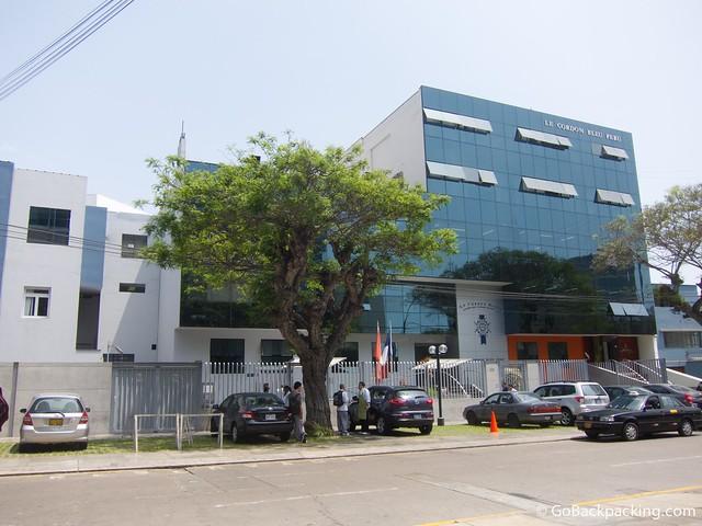 Le Cordon Bleu in Lima, Peru
