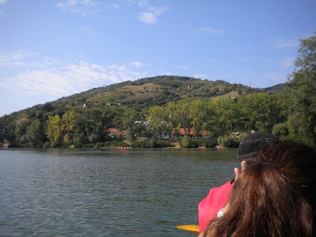 En canoa por el río Tisza