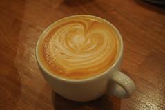 Lovely coffee heart