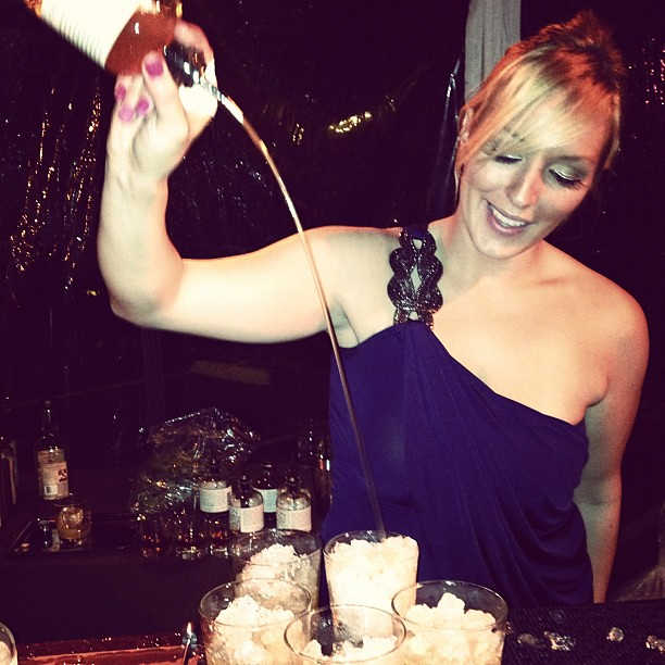 LA woman bartender Lacey Murrillo by Caroline on Crack