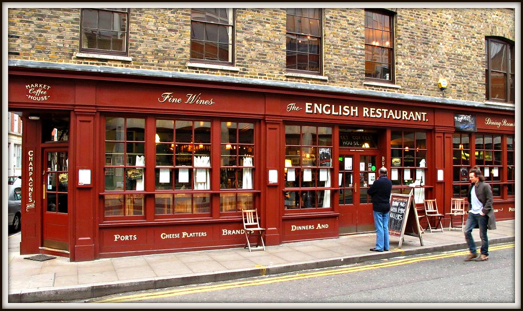 The English Restaurant, Brushfield Street