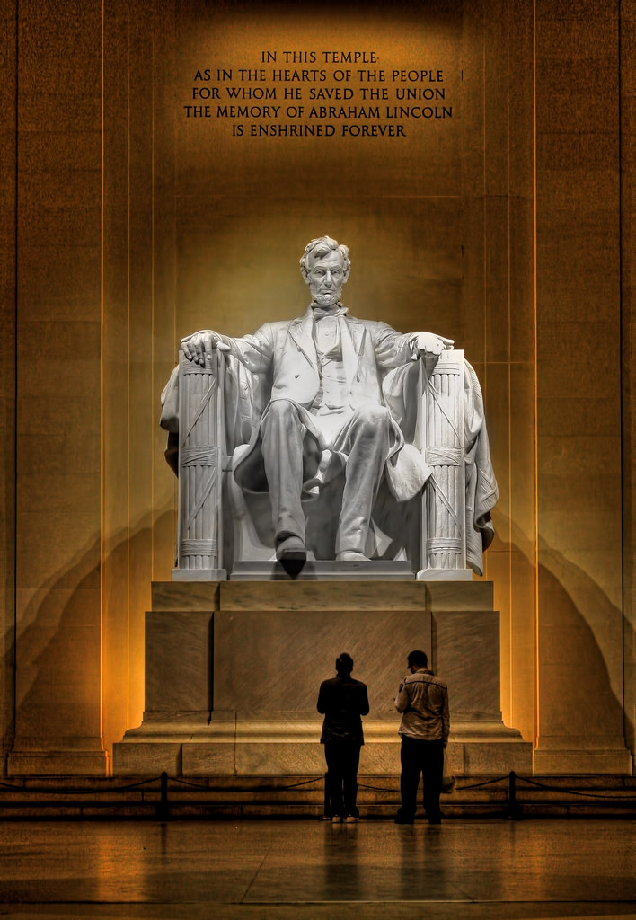Washington D.C. - Lincoln Memorial Abraham Lincoln 04
