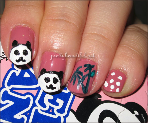 Hello Panda Nail Art Tutoria 1l