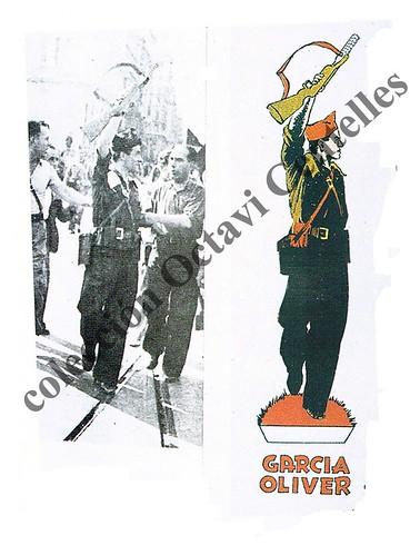 Detalle del recortable «Los Aguiluchos» by Octavi Centelles