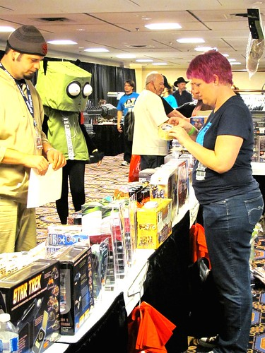 Vendor at Hal-Con 2011