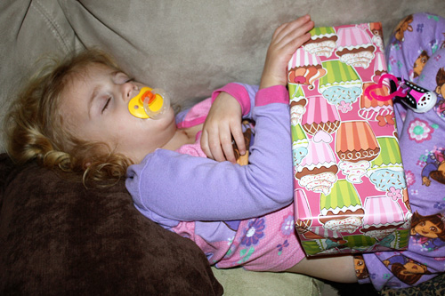 Auttie-sleeping-gift