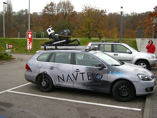 Navteq mapping car