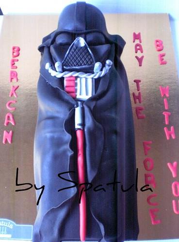 Darth Vader Pasta 3 by Demetin spatulasi
