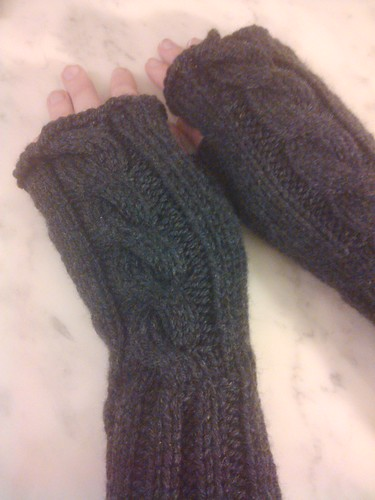 Cable of mitts