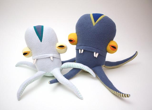 Vindi Little Squidy & Marci Medium Squidy