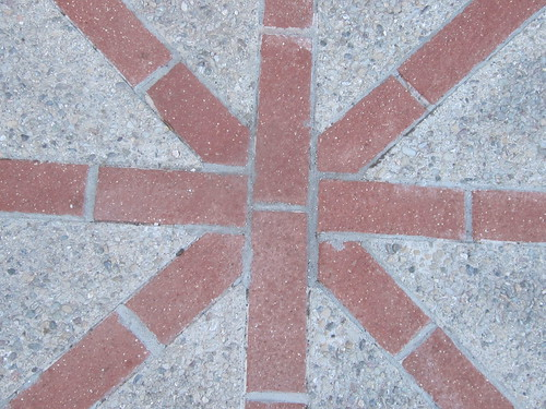 Brick and Concrete Pattern Design