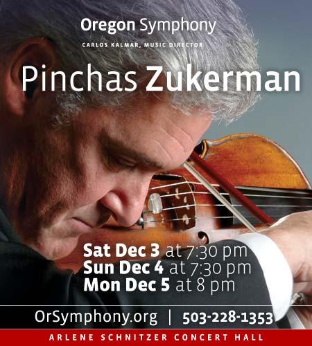 Pinchas Zukerman @ Oregon Symphony
