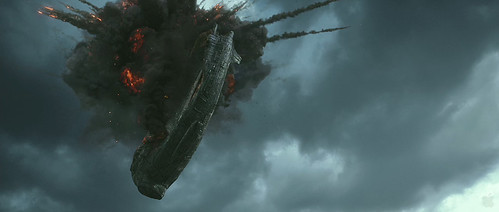 Prometheus Trailer2 - Ship Explosion