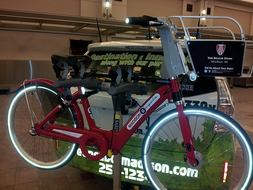 Madison B Cycle and Prius #nbs12 by wendysoucie