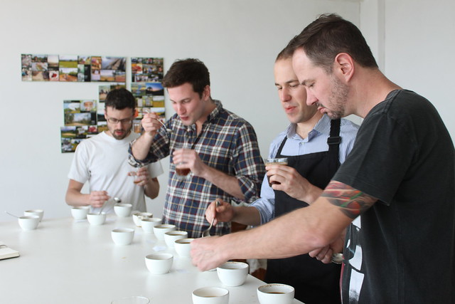 Cupping in Addis Ababa