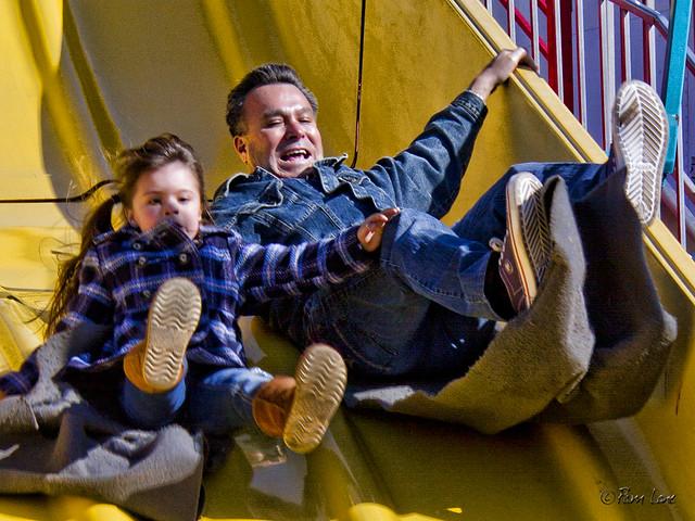 Downey carnival slide