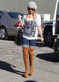 Ashley Tisdale Beanie Hat Celebrity Style Women's Fashion