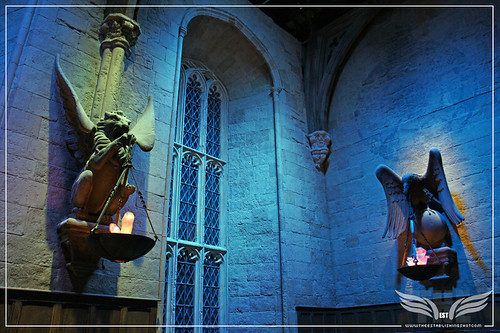The Establishing Shot: The Making of Harry Potter Tour - The Great Hall Gryffindor Flambeaux & Ravenclaw Flambeaux by Craig Grobler