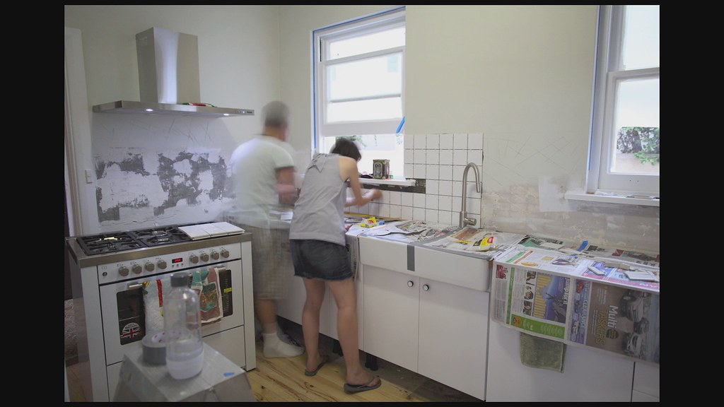 Kitchen Reno Tiling