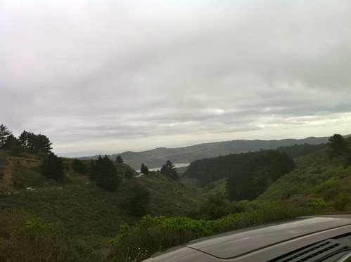 Skyline Blvd looking toward 280