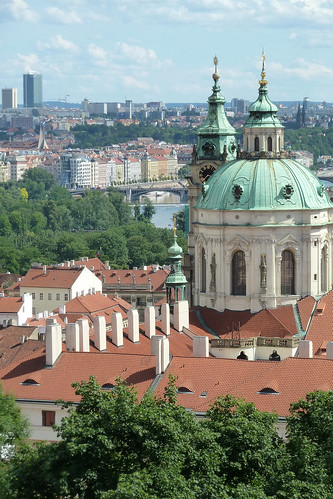 St Nicholas Church from the Old Royal Palace