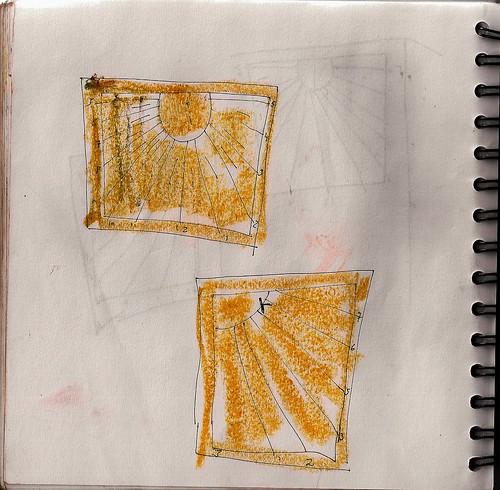El otro cuaderno, some sundials de la catedral de Teruel