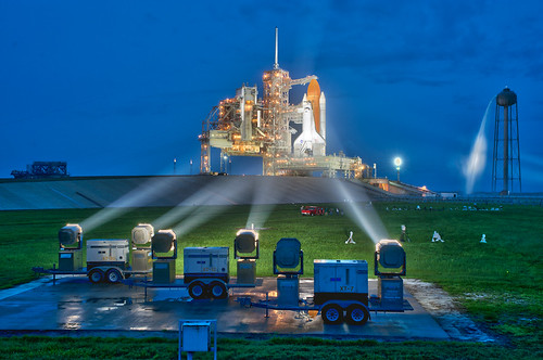 STS 135: The night before final launch