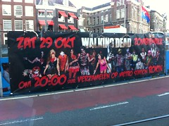 The Walking Dead Zombie Walk. Wish I were in Amsterdam for that!