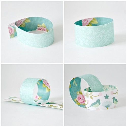 Paper chain - Steps 5-8