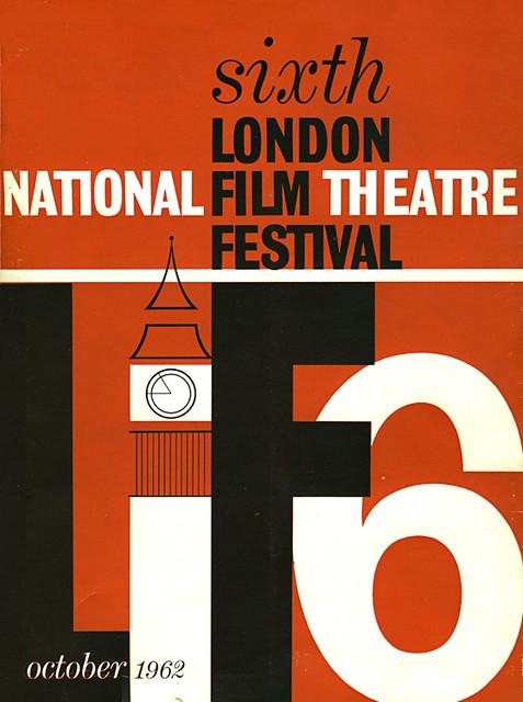 1962 London Film Festival Poster