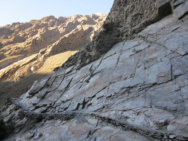 Human highway into Juts, Pokara valley, Pakistan.