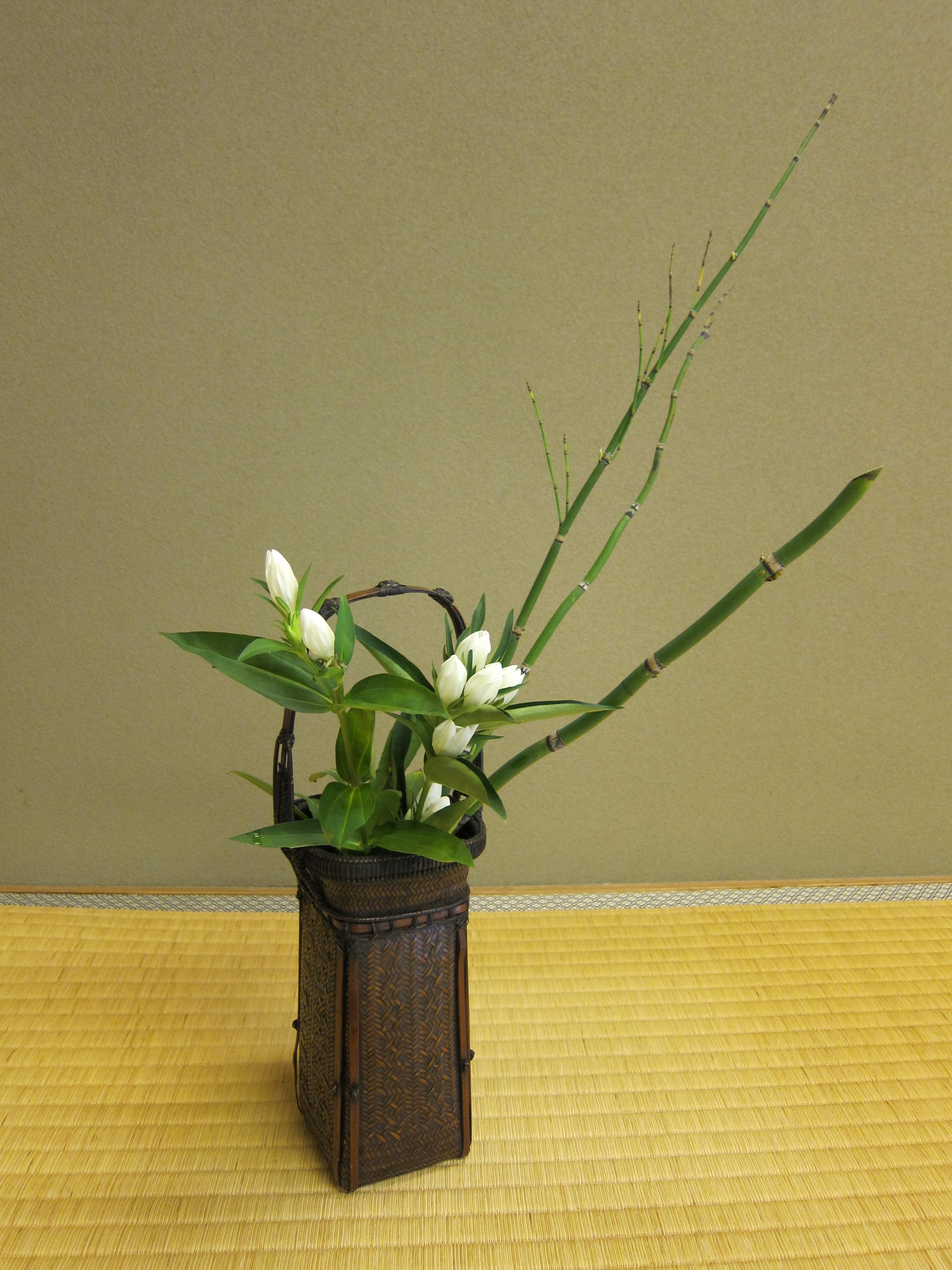 Japanese flower design ikebana for Japanese flower arranging crossword clue