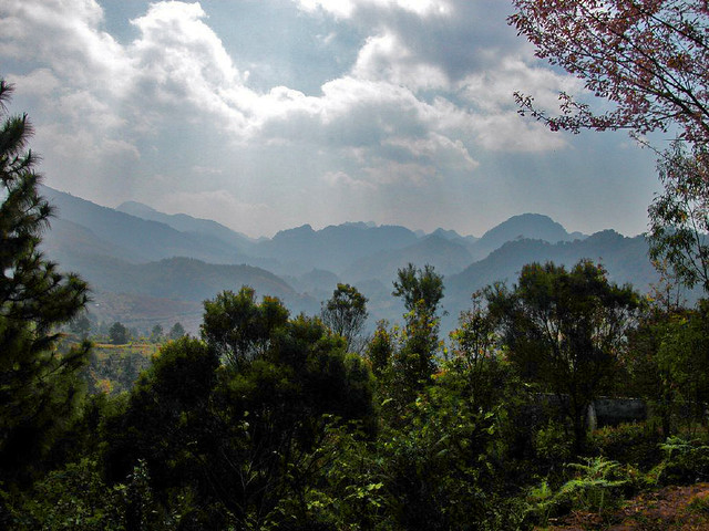 Landscape in Mae Hong Son area
