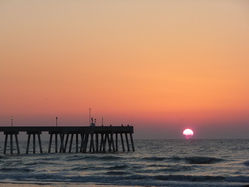 Sunrise at Wrightsville Beach, NC