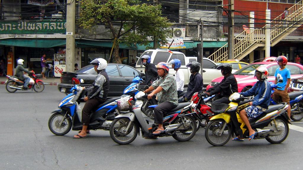 Bangkok motorbikes