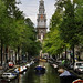 Canals of Amsterdam in Amsterdam, Netherlands
