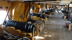 hms victory lower gun deck starboard side