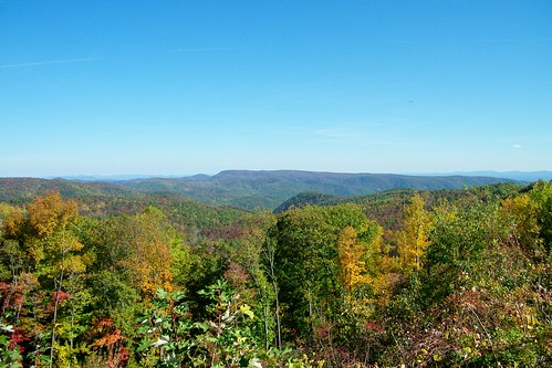county brown mountain color leaves leaf north carolina overlook burke pisgah morganton