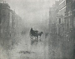 A Fine Day in London, 1896, by Hector Colard