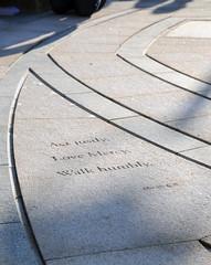 Kings Heath Village Square - labyrinth