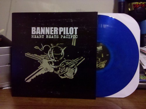 Banner Pilot - Heart Beats Pacific LP - Blue Vinyl