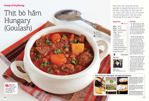 Goulash on Family Kitchen Magazine
