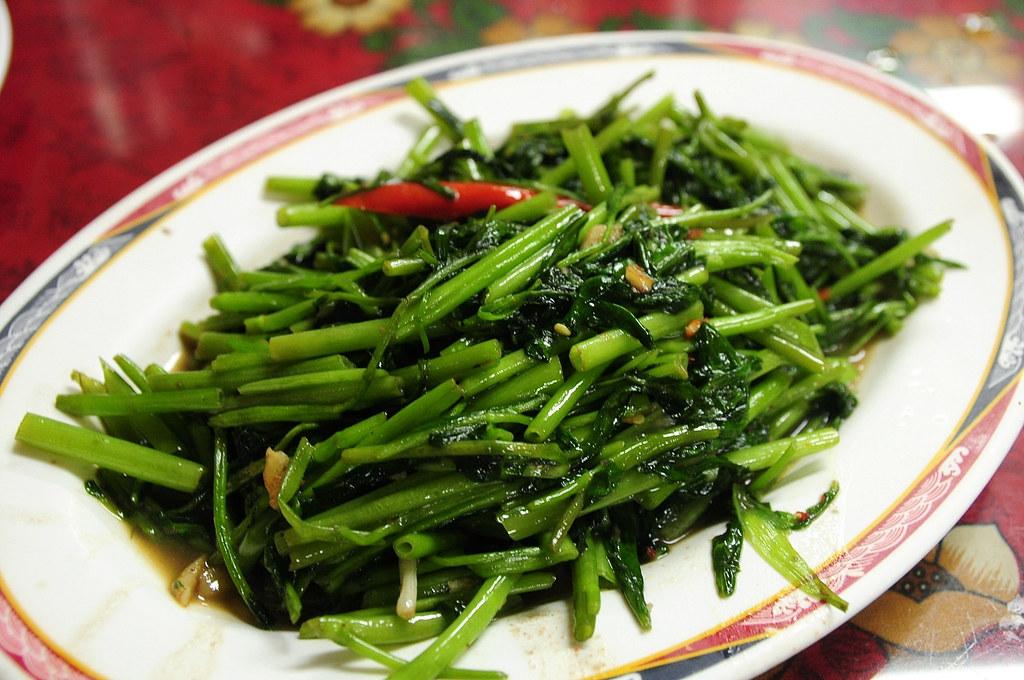 泰國小館 - 蝦醬空心菜