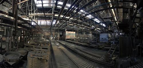 Stahlwerkpanorama