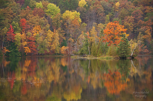 reflection fall monument water colors river nikon michigan ausable d300 lumbermans huronmanisteenationalforest mygearandme mygearandmepremium