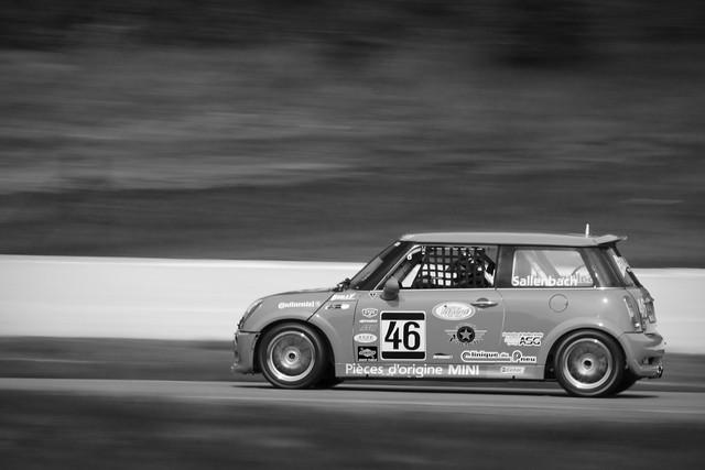 Michel Sallenbach, Mini Cooper S JCW, Mosport 2011