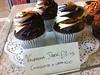 Chocolate Orange at Cupcake Cafe at the Scottish Galleries
