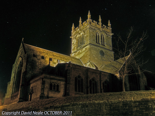 Night Time HDR - Ellesmere Church