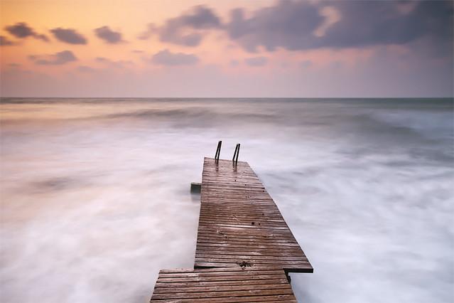Little Pier at Sunrise