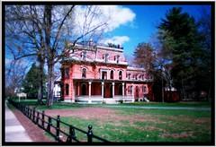 Nolan Mansion ~ Saratoga Springs NY ~  Film late 80s